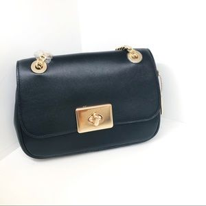 Coach Cassidy Crossbody Handbag Black NWT